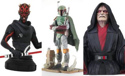 Drei neue Star Wars-Collectibles von Gentle Giant vorgestellt