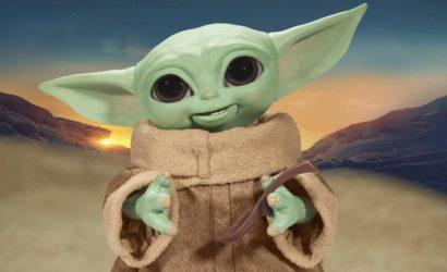 Hasbro Star Wars Galactic Snackin' Grogu: Alle Infos und Bilder zur neuen Animatronic-Figur