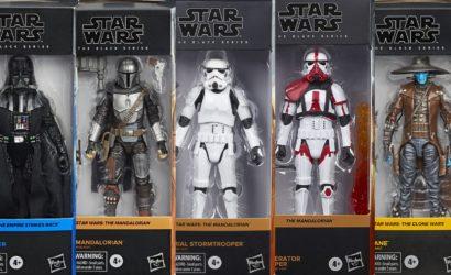 Hasbro Star Wars 6″ Black Series: Re-Run fünf begehrter Figuren