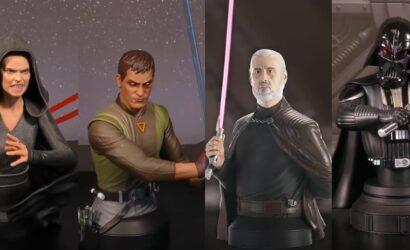 Vier neue Gentle Giant Star Wars-Büsten für 2021 angekündigt