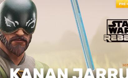 Gentle Giant Kanan Jarrus 1/6th Scale Mini Bust: Offiziell vorgestellt