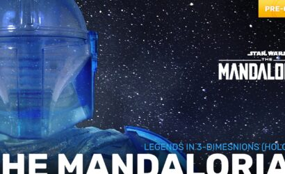 Alle Infos zur Gentle Giant The Mandalorian (Hologram) Legends in 3D-Büste