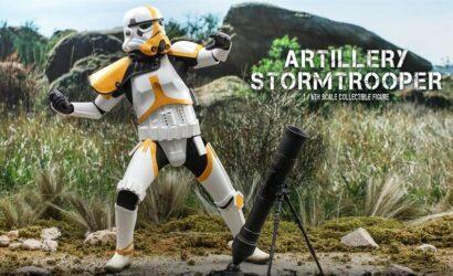 Hot Toys 1/6th Scale Artillery Stormtrooper: Alle Infos und Bilder