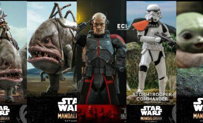 Fünf neue Hot Toys Star Wars 1/6th Scale-Figuren: Erste Infos und alle Bilder