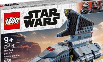 LEGO Star Wars 75314 The Bad Batch Attack Shuttle: Alle Infos und Bilder