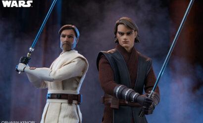 Anakin Skywalker und Obi-Wan Kenobi (The Clone Wars) 1/6th Scale-Figuren von Sideshow Collectibles vorgestellt