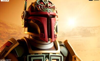 """Boba Fett """"Urban Aztec""""-Büste von Unruly Industries: Alle Infos und Bilder"""
