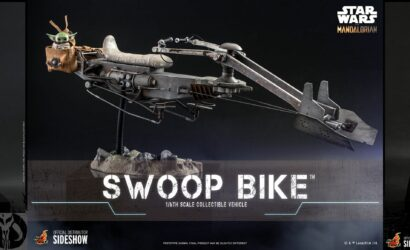 Hot Toys 1/6th Scale The Mandalorian & Grogu & Swoop Bike: Alle Infos und Bilder