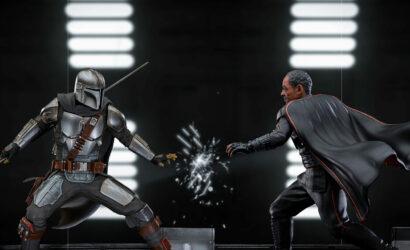 Iron Studios Moff Gideon & The Mandalorian als 1/10 Battle Diorama Scene: Alle Infos und Bilder