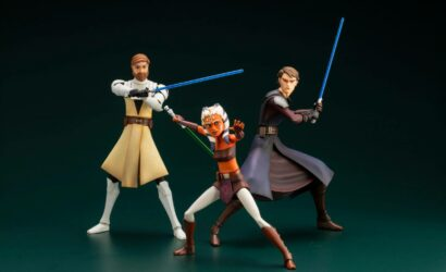 Kotobukiya ArtFX+ The Clone Wars Obi-Wan, Anakin und Ahsoka: Neuauflagen angekündigt