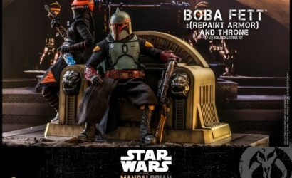 Hot Toys 1/6th Scale Boba Fett (Repaint Armor) & Throne: Alle Infos und Bilder