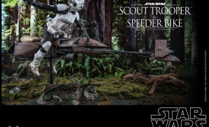 Hot Toys 1/6th Scale Scout Trooper & Speeder Bike: Alle Infos und Bilder