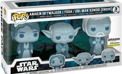 Funko POP! Star Wars Force Ghosts (Endor) 3-Pack vorgestellt