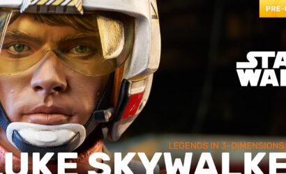 Gentle Giant Luke Skywalker 1/2 Legends in 3D-Bust: Alle Infos und Bilder