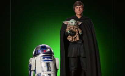 Iron Studios Luke Skywalker, R2-D2 & Grogu 1/4 Legacy Replica Statue angekündigt