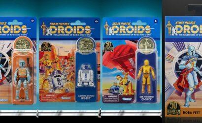 Vier neue Hasbro Star Wars-Figuren für die 50th Anniversary LucasFilm-Reihe vorgestellt